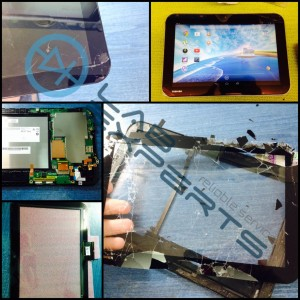 Επισκευή οθόνης σε Tablet Toshiba AT10