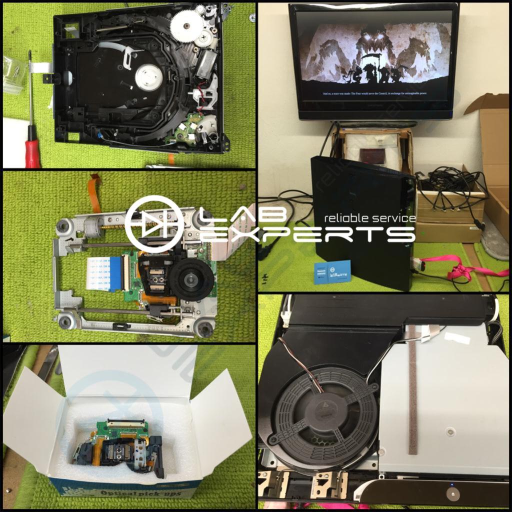 Service Επισκευή Laser σε SONY PlayStation 3
