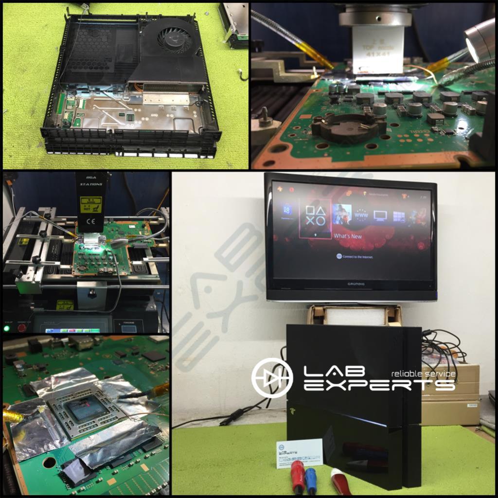 Επισκευή - Δεν έχει εικόνα PlayStation 4 - BLOD