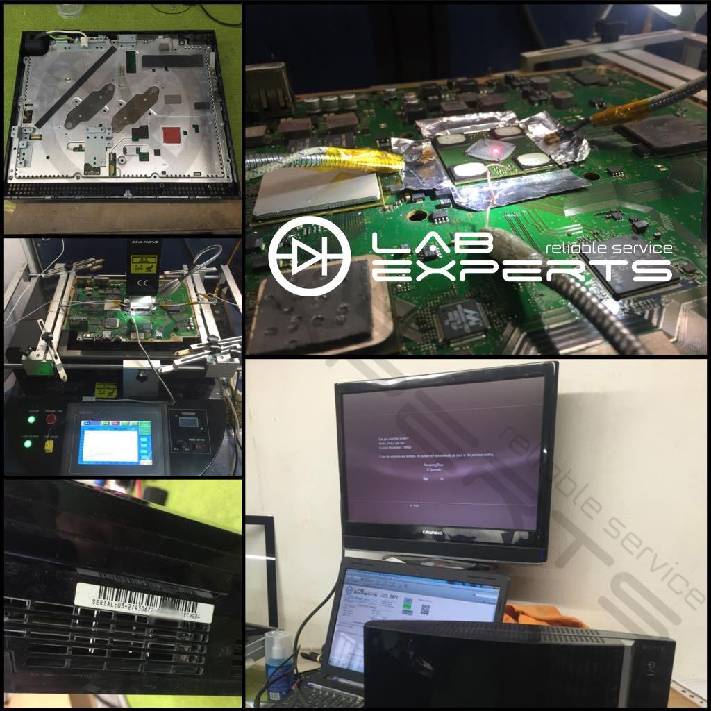Service - Επισκευή YLOD σε PlayStation 3