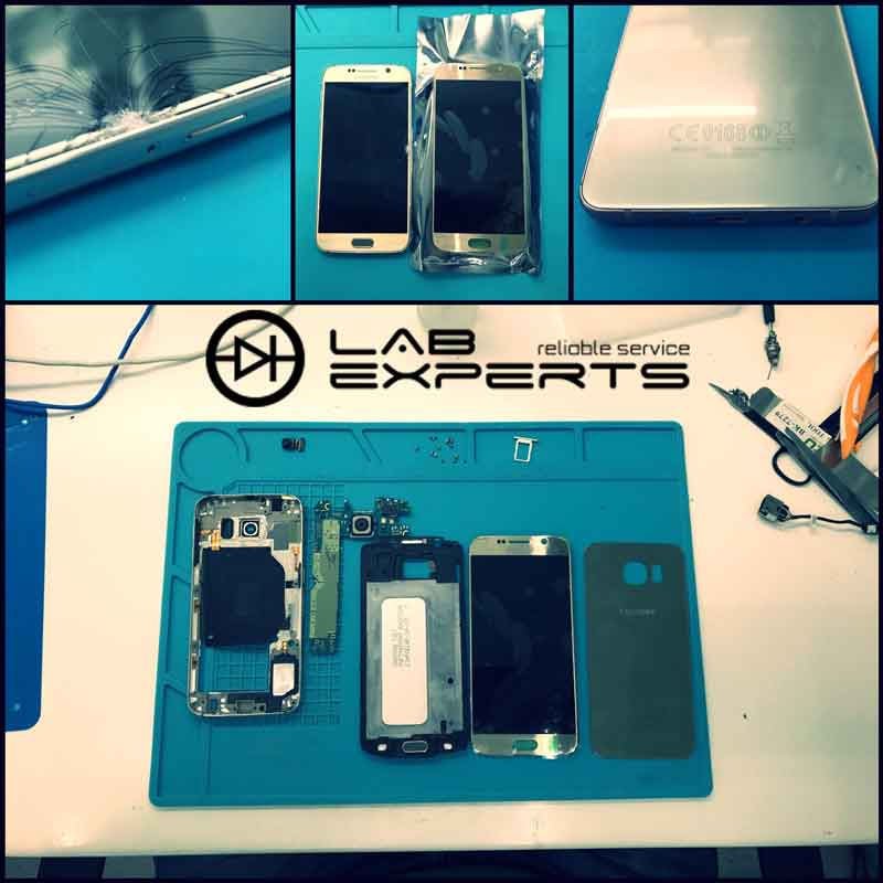 Επισκευή οθόνης σε SAMSUNG Galaxy S6 SM-G920F