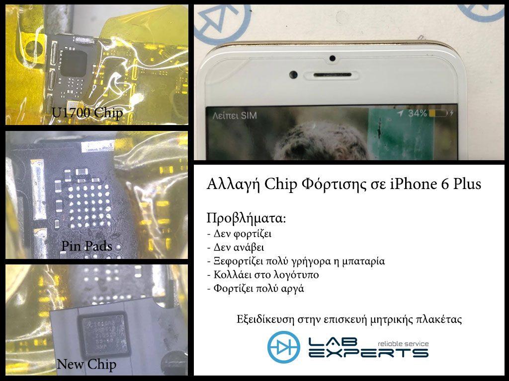 Ξεφορτίζεται γρήγορα η μπαταρία?Επισκευή iPhone 6 Plus
