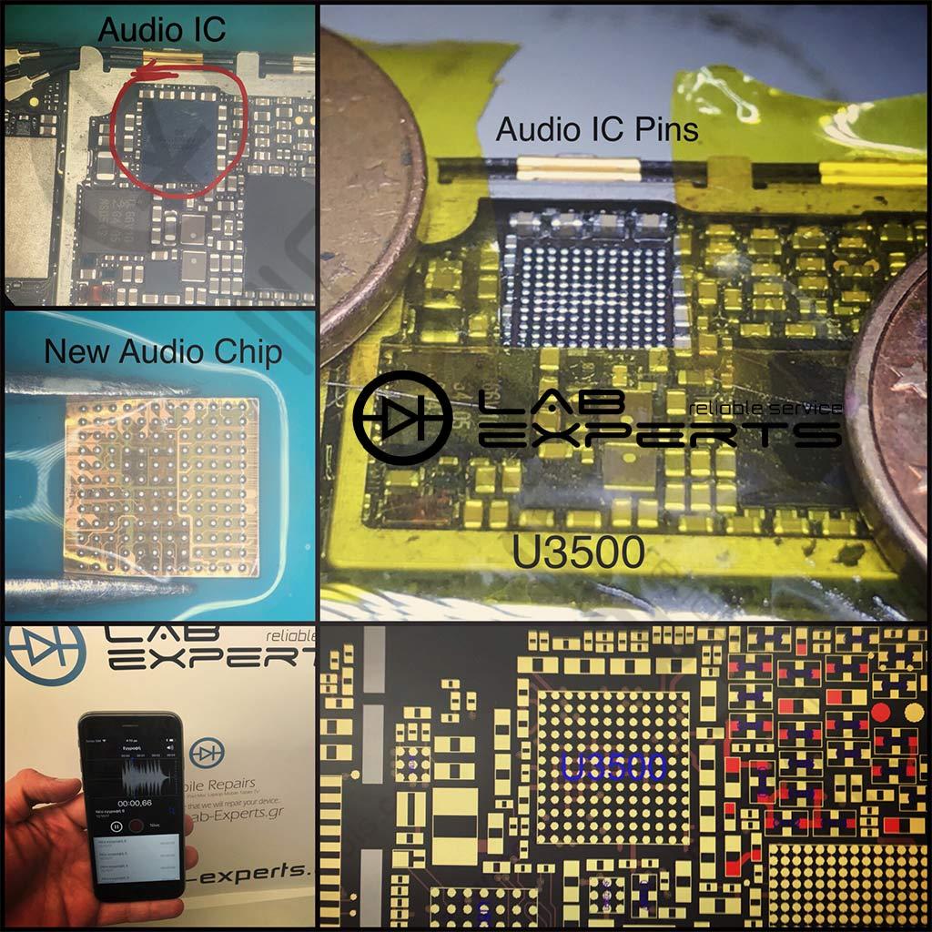 Πρόβλημα με ήχο σε iPhone 6s - Αλλαγή Audio Chip