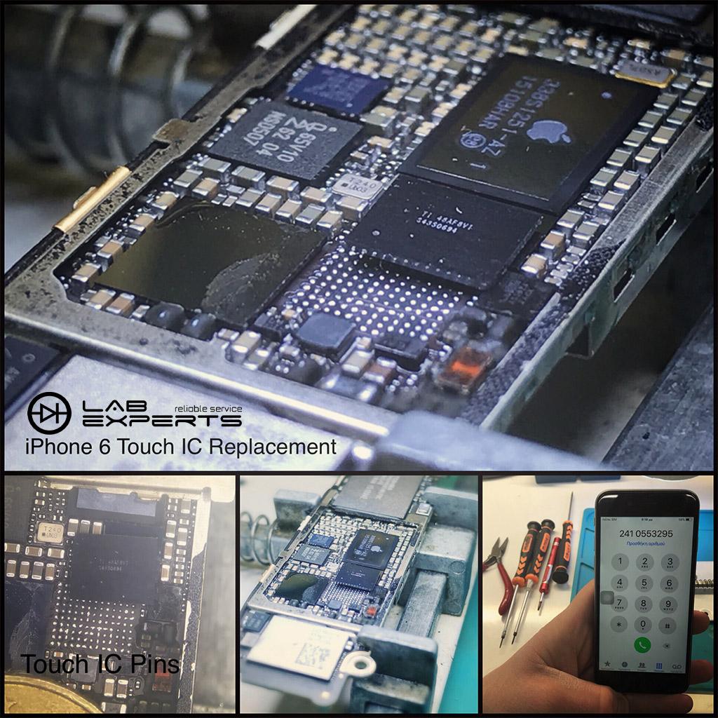 Αλλαγή Touch Chip σε iPhone 6