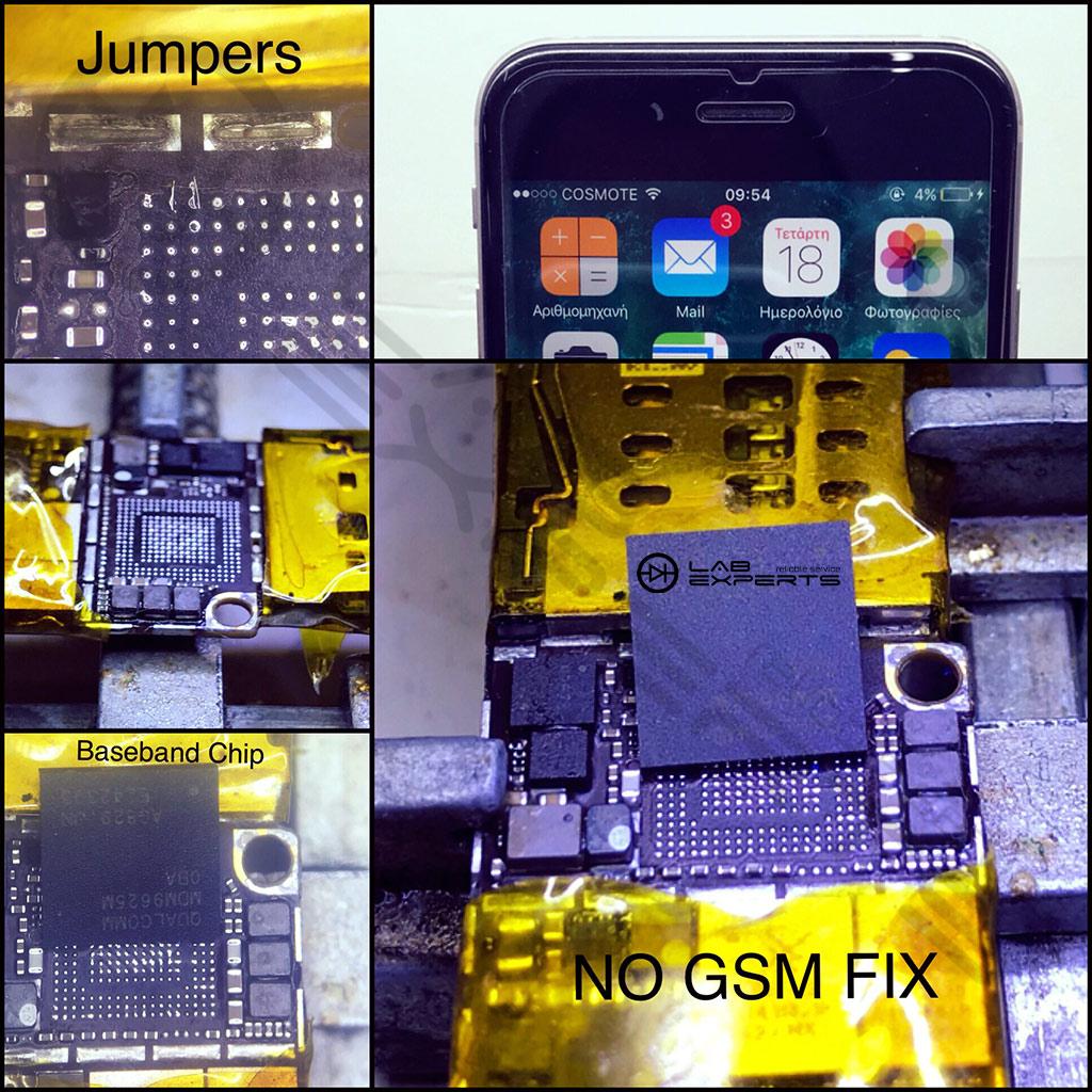 """Επισκευή """"Καμία υπηρεσία"""" ή """"Αναζήτηση"""" στο iPhone 6"""