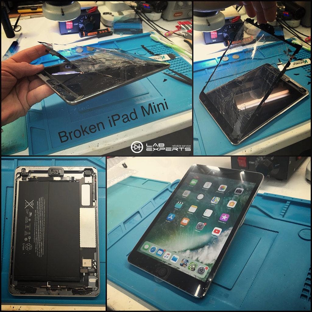 Αλλαγή οθόνης (Digitizer) σε iPad Mini 2
