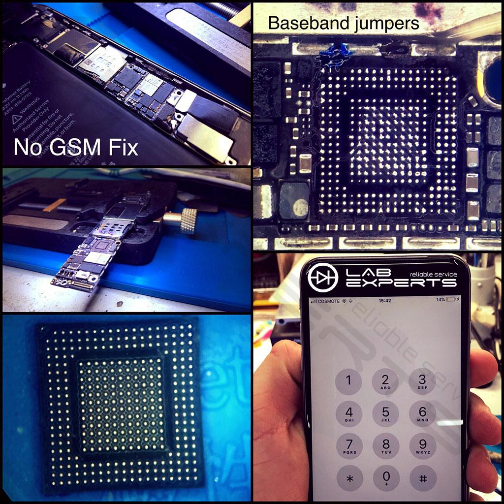 Επισκευή Baseband Chip σε iPhone 6 Plus