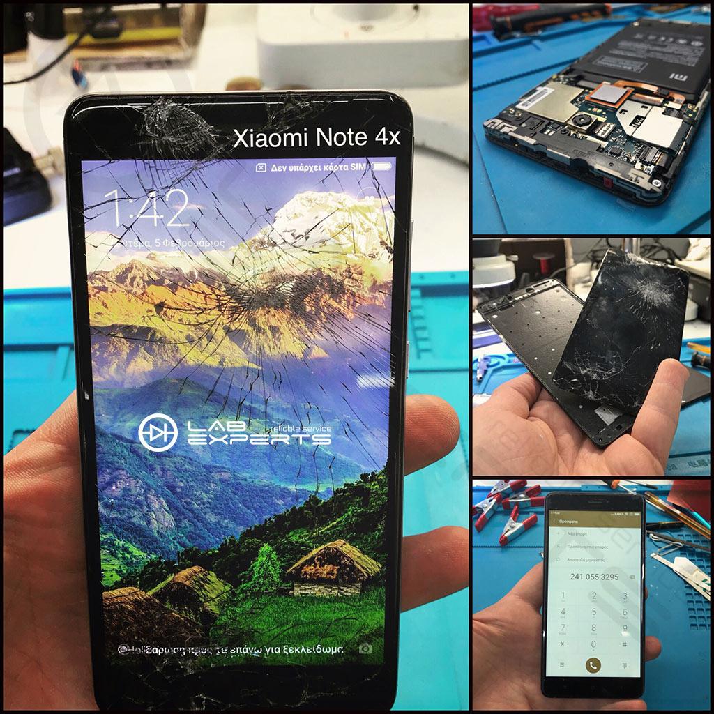 Αλλαγή οθόνης σε Xiaomi Note 4x από Λαμία