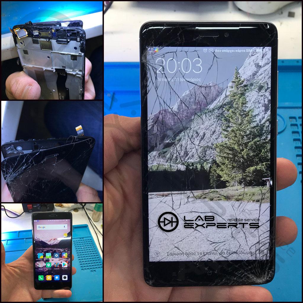 Επισκευή οθόνης σε Xiaomi Note 4x από Ηγουμενίτσα